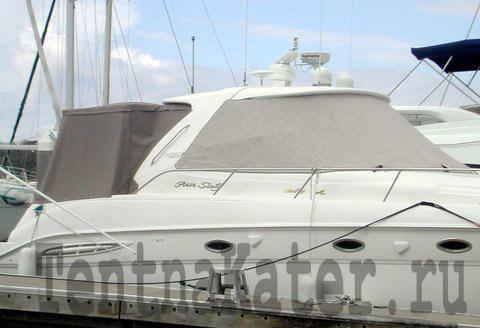 Стояночный тент для яхты